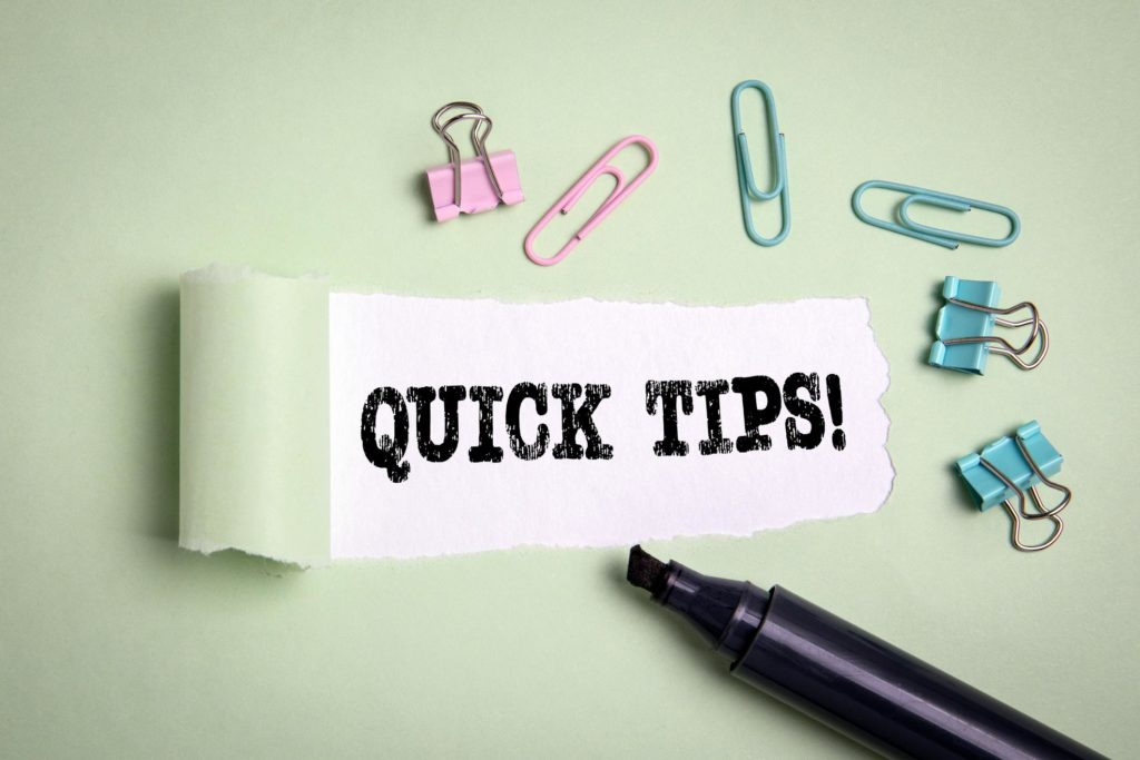 2 Quick Tips for Dealing With Your Insurance Company