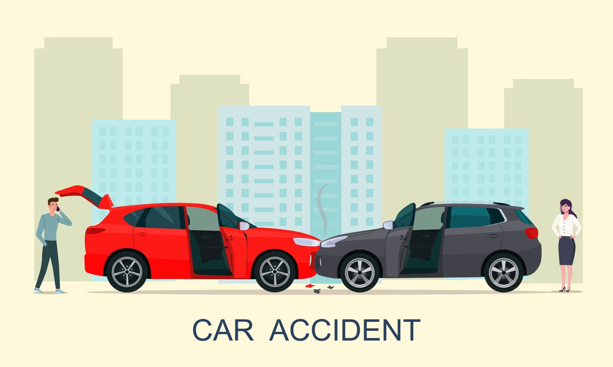 5 of the Most Common Car Accident Causes | The Fell Law Firm | iStock-1199392953